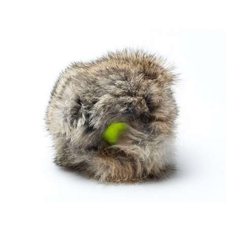 "Mystique Rabbit ""Cover"" with tennis ball"