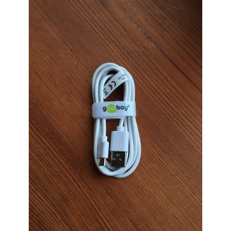 USB 2.0 laadimiskaabel A - Micro B
