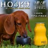 H2O4K9 roostevabast terasest joogipudel 0,28l